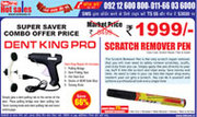 Dent King Pro,  Car Dent Remover,  Scratch Remover Pen,  Car Dent Remover