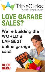 TripleClicks  garage sales
