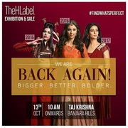 Save Oct 13 For Thehlabel Exhibition 2018 For Exclusive Designer Wear!
